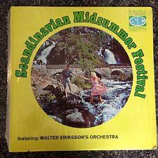 SEALED - SCANDINAVIAN MIDSUMMER FESTIVAL - Walter Eriksson's Orchestra  LP  NEW