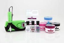 Synergy Acrylic Starter Kit Pro- Lime Green 2--> includes monomer & E-File!!
