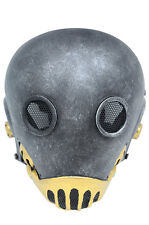 Wire Mesh Full Protection Paintball Hellboy Kroenen 1:1 Nazi Mask Cosplay
