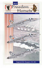 Eagle Strike 1/48 F-18 Freedom Hornets Decals Pt I Trumpeter Revell Hasegawa