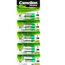 5x  4LR44 6v PX28  Alkaline battery  476A  A544  4A76 batteries  Camelion 6 volt