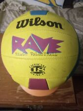 Wilson Rave Volleyball Official Size/Weight 18 Panel Vintage USED w/Scuffs