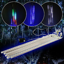 30/50cm Meteor Shower Falling Star Icicle Snow Fall LED Warm White Lighting