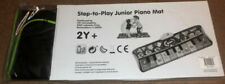 Fun Step Play Junior Battery Operated Piano Mat 4 Animal Flashing Lights Musical