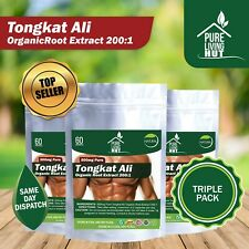 Tongkat Ali Root Extract 200:1 - Muscle, Strength Increase & Libido Booster