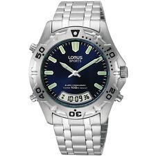LNP RVR55AX9 Lorus Gents Alarm Chronograph Digital Analogue Watch