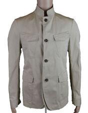 Button Blazers Funnel Neck Regular Coats & Jackets for Men
