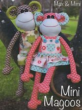 Mini Magoos Max & Mimi Monkeys - Sewing Craft PATTERN