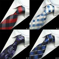 Plaid Suit Men's Necktie Classic Fashionable Neck Ties Formal Neck Accessories