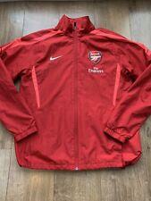 Arsenal Football Training Jacket Tracksuit Top Adults Medium Nike