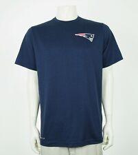 Nike Dri-Fit New England Patriots NFL Blue Training Shirt Mens Large