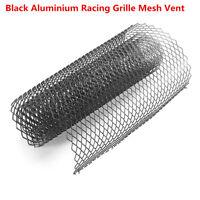 Universal Aluminium Grille Net Mesh Vent Car Vehicle Body Grill Silver 12x6mm