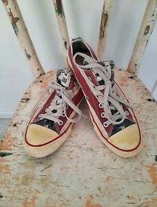 Converse - Chuck Taylor Low Top - American Flag Design - Limited Edition 🇺🇲