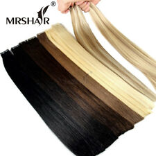7AAA+ 16inch To 26inch Tape In Remy Human Hair Extensions PU Skin Weft full head