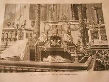 Les Cascatelies de Tivoli Italia Gravure Print 1872
