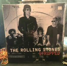 "THE ROLLING STONES ""STRIPPED"" 2 LP First Press 1995 RARE OOP SEALED NEW"