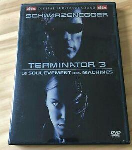 """"""" TERMINATOR 3 LE SOULEVEMENT DES MACHINES """" DVD Arnold SCHWARZENEGGER"""