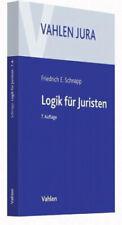 Logik für Juristen Friedrich E. Schnapp Broschiertes Buch Deutsch