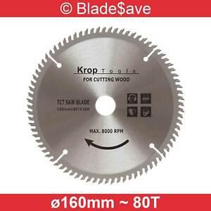Skil Circular Saw Blade Fine Cut TCT 160mm x 16/20mm x 80T by KROP