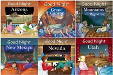 GOOD NIGHT SOUTHWEST USA Geographical Bedtime Boardbook Series Adam Gamble 1-6