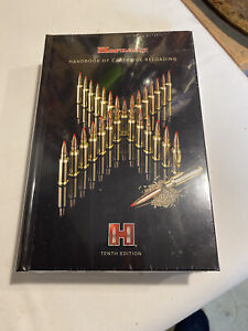 Hornady 10th Edition Handbook of Cartridge Reloading - 99240. New Unwrapped