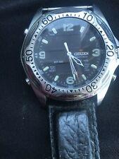 Citizen Promaster C460 Navitach Ana-Digi Watch Estate  For Repair/parts