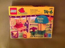 LEGO Duplo 2981 Pooh's house plus honey pot very rare 1999  brand new and sealed