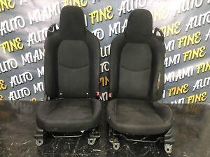 06-15 MAZDA MX-5 MIATA NC OEM SEATS SEAT SET BLACK CLOTH LEFT AND RIGHT OEM
