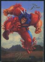 1994 Flair Marvel Annual Trading Card #144 Warpath