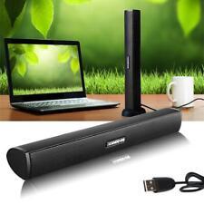 Portable USB Laptop Speaker Mini Soundbar With Clip On Style Digital Audio DI