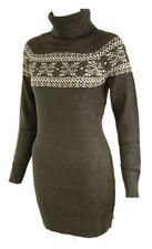 Acrylic Mini Jumper Casual Dresses for Women