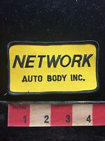 Vtg NETWORK AUTO BODY INC. Car Related Advertising Patch 75X4