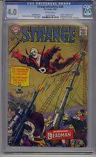 STRANGE ADVENTURES #205 CGC 4.0 OFF-WHITE PAGES ORIGIN AND 1ST DEADMAN DC