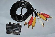 Nintendo Nes TV Kabel mit Scartadapter Scart