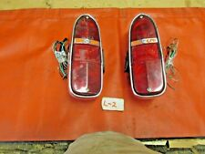 Triumph TR4,TR250, Original Lucas Rear Tail Light Assdembly's, !!