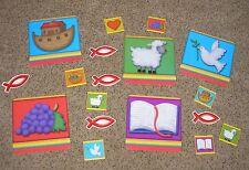 Teacher Resource:  Christian Bulletin Board Set