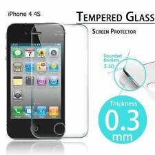 iPhone 4 & 4S Genuine Tempered Glass Screen Protector 100% Genuine
