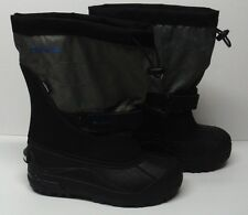 Columbia Women's Size 5 Boots Winter Liners Blue Gray Snow