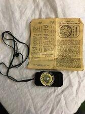 Vintage Pierce Exposure Meter Still Model Camera Light Extinction Meter