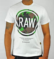 NWT Genuine G-Star RAW Crew Neck T-Shirt For Men 50% Off Free Shipping