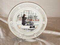 "Copenhagen Porcelain B & G ~ Carl Larsson Plate ~ ""Flowers on the Windowsill"""
