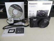 Panasonic LUMIX DMC-TZ60 18.1MP Digital Camera with 2gb mem, boxed - Black