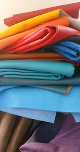 Many Colors Piece 40cm x 40cm  High Quality Leather for LEATHER GOODS