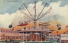 A View of the Flying Machine, Earl's Court Amusement Park, London Uk