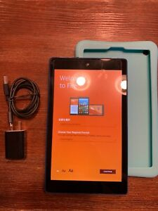 Amazon Kindle Fire HD 8 (7th Generation) 16GB, Wi-Fi, 8in - Blue