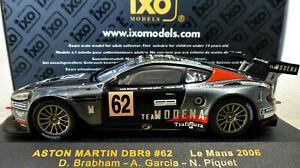 1/43 IXO Aston Martin DBR9 #62 Le Mans 2006. Mint & boxed. LMM088.