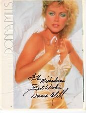 Donna Mills General Hospital Knots Landing Autograph Hand Signed Magazine Page
