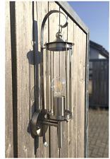 Aussenleuchte Wandlampe Aussenlampe Wandleuchte  Edelstahl Glas Laterne E27 H1