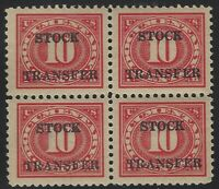 US Stamps - Scott # RD44 - Mint Block of 4 - Mint Never Hinged           (E-295)