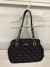Kate Spade Gold Coast Elizabeth Quilted Leather Satchel Handbag